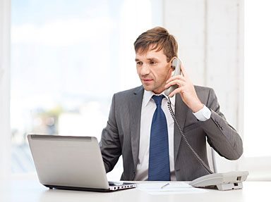 Consumer receives financial coaching by phone
