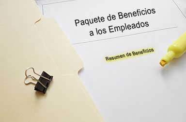 Paquetes de Beneficios a los Empleados