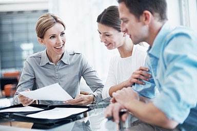 Clients receive financial education