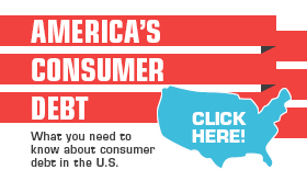 America's Consumer Debt infographic banner