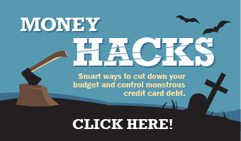 Money Hacks infographic banner