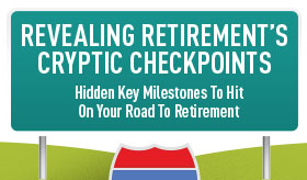 Revealing Retirement Cryptic Checkpoints infographic banner