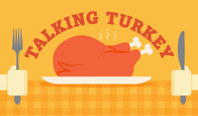 Talking Turkey infographic banner