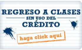 Regreso a clases crédito banner de infografía