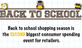 Back to School infographic banner