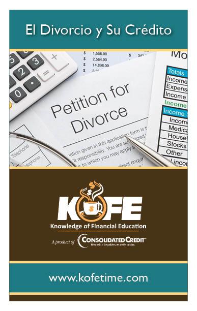 El Divorcio y Su Crédito