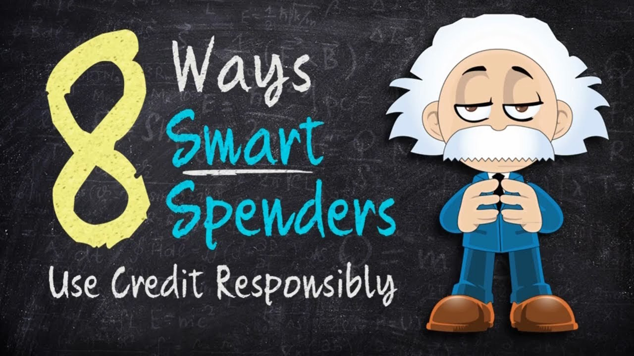 title card: Smart Spender Credit Tips: Using Credit Responsibly
