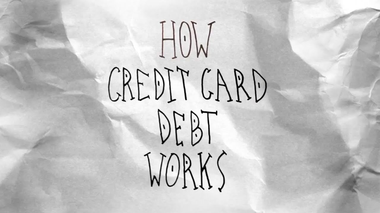 title card: Explained in 60 seconds: Credit Card Debt