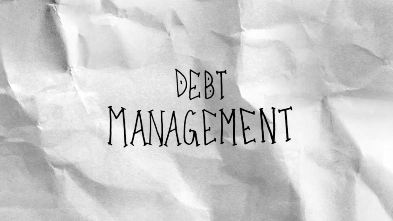 title card: Explained in 60 seconds: Debt Management