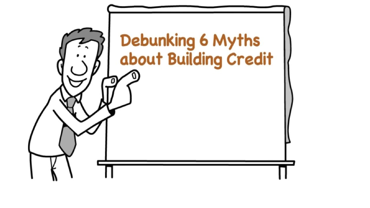 title card: Debunking 6 Common Myths about Building Credit