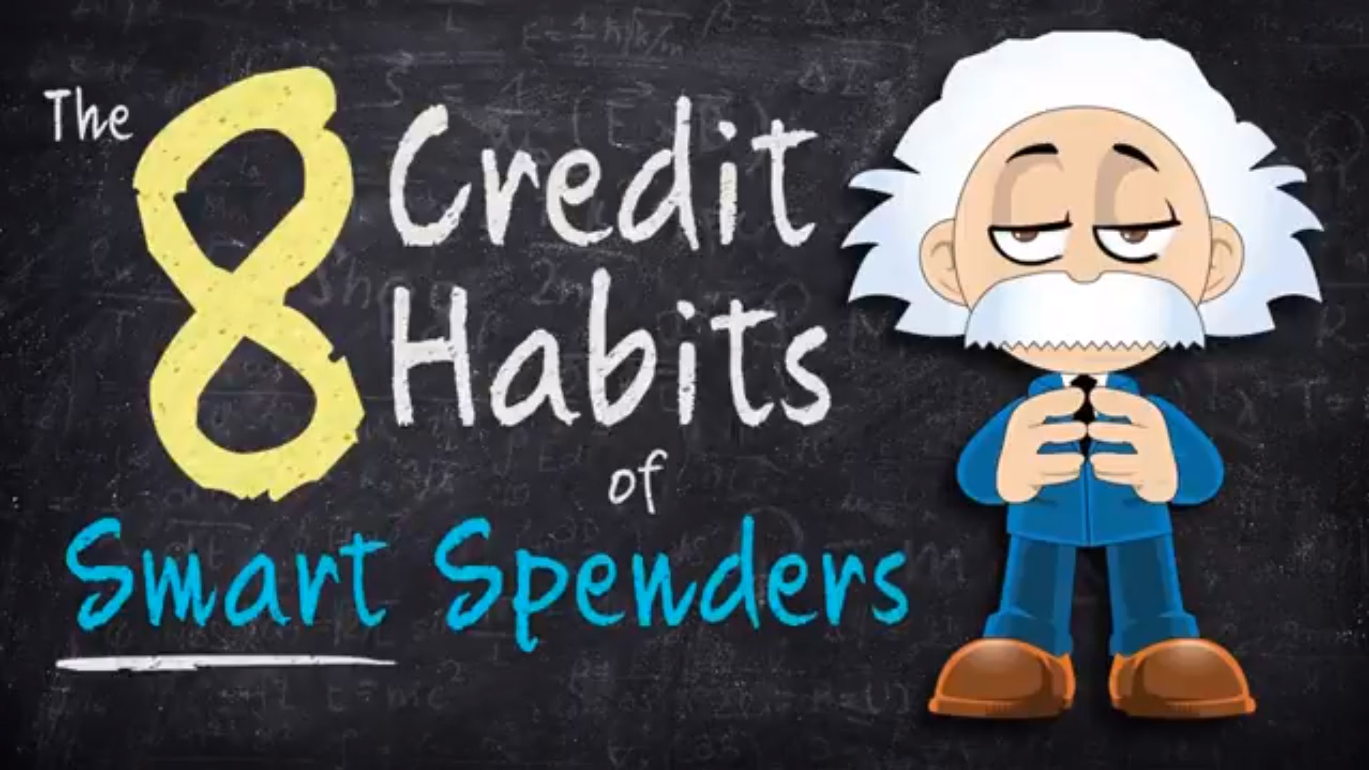 title card: 8 Credit Habits of Smart Spenders
