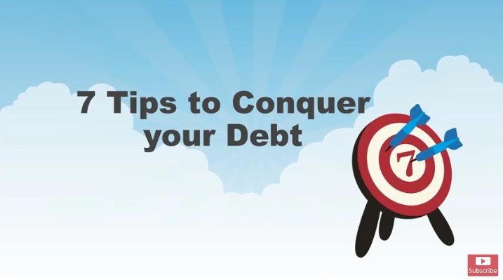 7 Tips to Conquer Debt Thumbnail