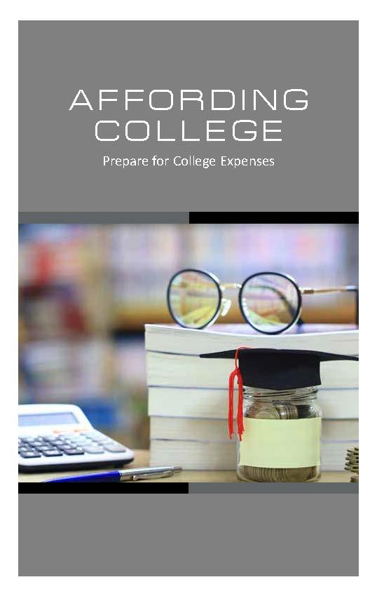 Affording College: Prepare for College Expenses