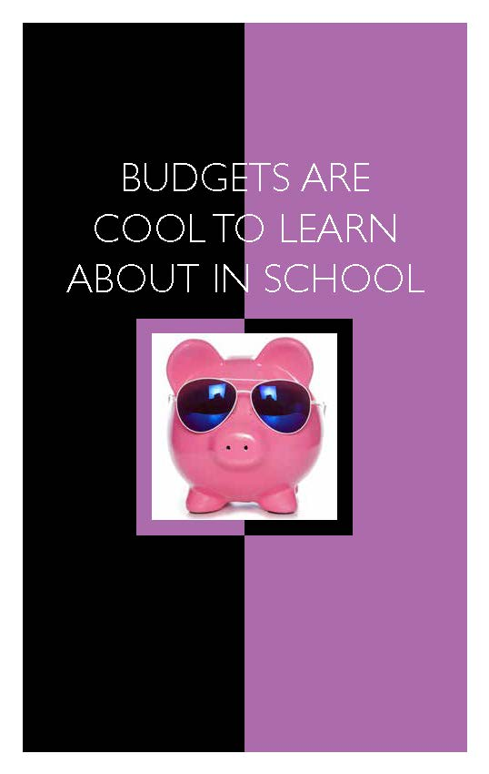 Budgets Are Cool