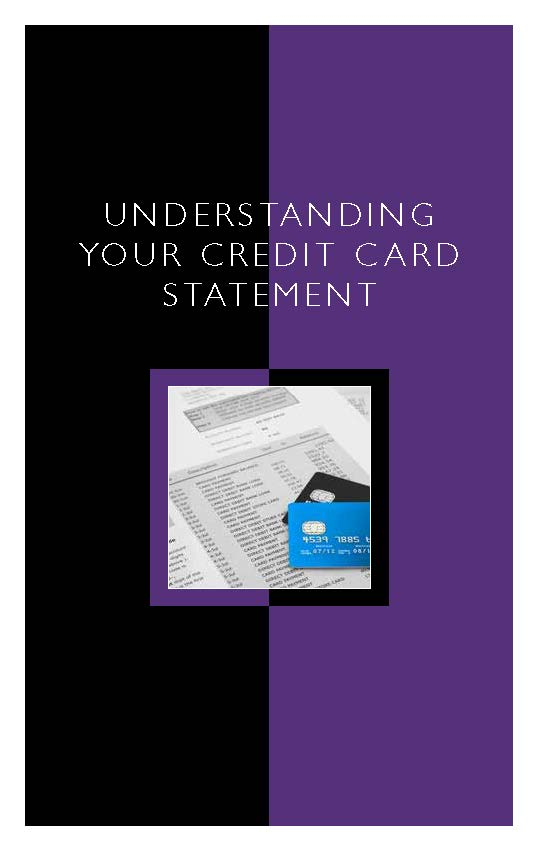 Understanding Your Credit Card Statement
