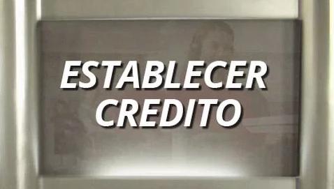 Establecer crédito