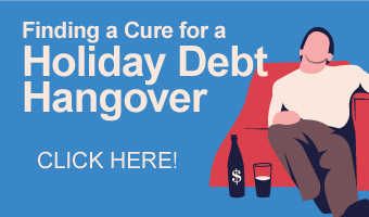 Finding a Cure for a Holiday Debt Hangover infographic banner