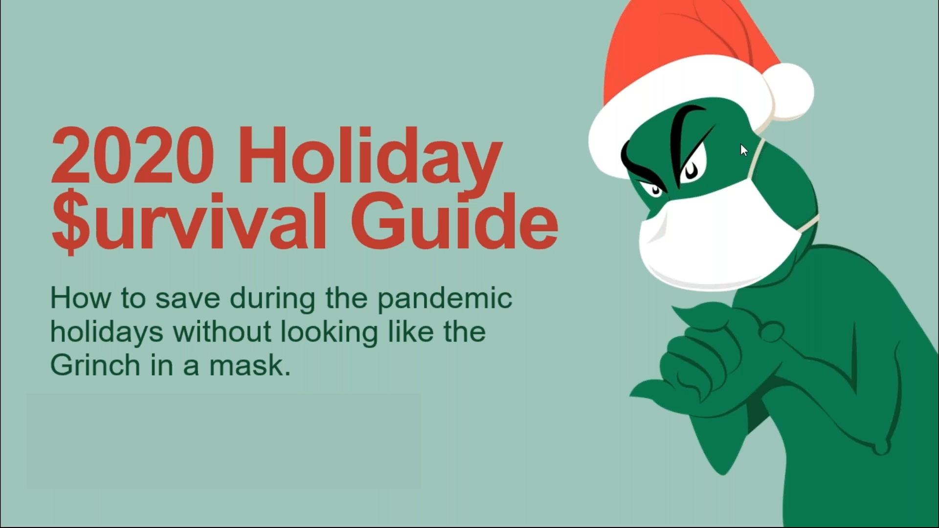 2020 Holiday $urvival Guide Thumbnail
