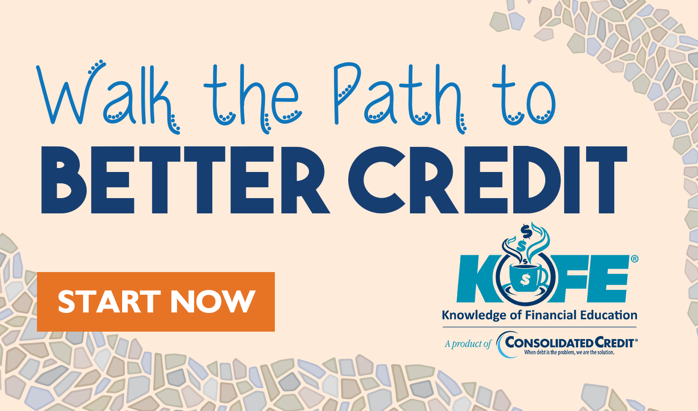 Walk the Path to Better Credit